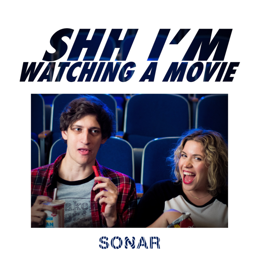 Shh I'm Watching a Movie
